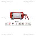 OMP SPORT gasilni sistem - 4.25L