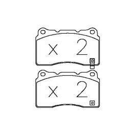 OT/8094 OMP Road&Sport brake pads
