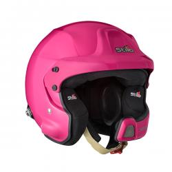 Stilo WRC DES Composite čelada - roza/črna