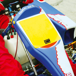 OMP Number plate for kart