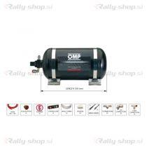 OMP CESST1 Black Collection Fire Extinguisher System - 4.25 L