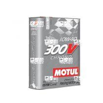 Motul 300V Chrono 10W40 2L engine oil