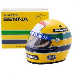 Ayrton Senna čelada1988 velikost 1/2
