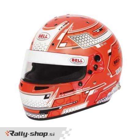Bell RS7 PRO STAMINA RED helmet