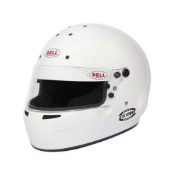 Bell GT5 SPORT WHITE helmet (no HANS)