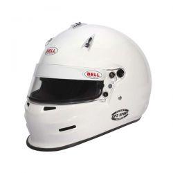 Bell GP3 SPORT WHITE helmet (no HANS)