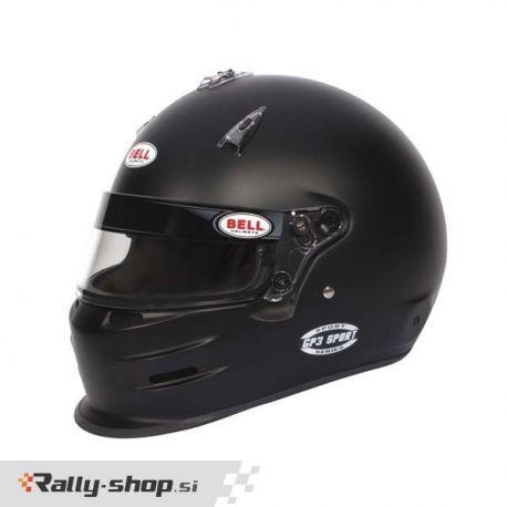 Bell GP3 SPORT MATTE BLACK helmet (no HANS)