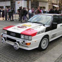 Audi Quatro ogrevano vetrobransko steklo