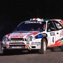 TOYOTA COROLLA WRC heated windscreen