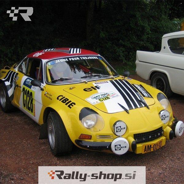 Renault Alpine A110: RENAULT ALPINE A110 Heated Windscreen