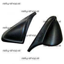 Pair of mirrors - carbon fibre