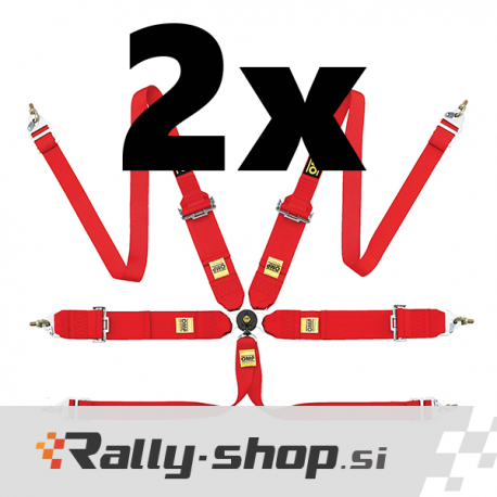 OMP 802H race harnesses - pair