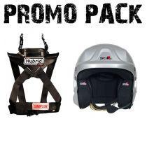 Simpson Hybrid PRO Rage + Stilo TROPHY JET helmet